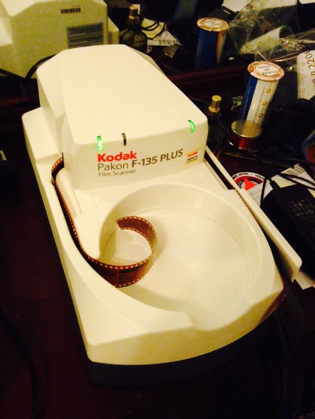 The Kodak / Pakon F135 Scanner (2/6)