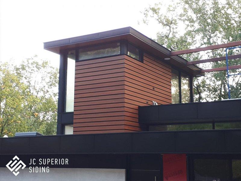 Aluminum Wood Grain Siding Jc Superior Siding Inc