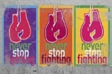 never stop fighting 1