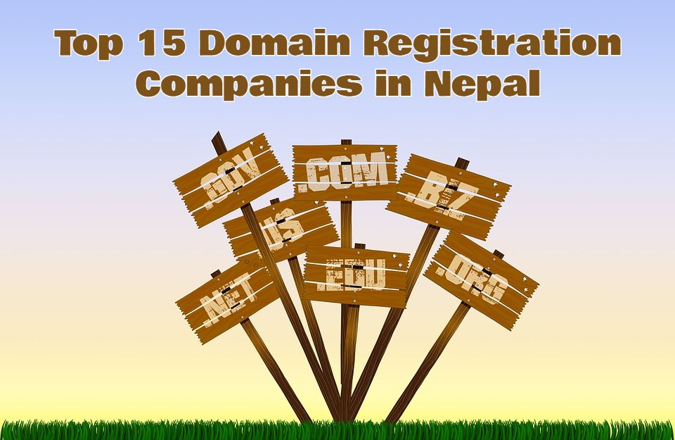 Top 15 Domain Registration Companies in Nepal | Domain Registration in Nepal