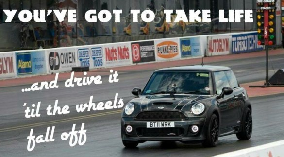 MINI LIFE JCW MOTTO