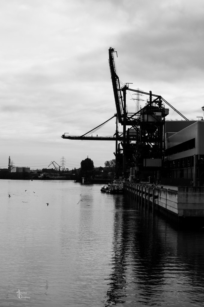 Faces of Hamburg – empty docks