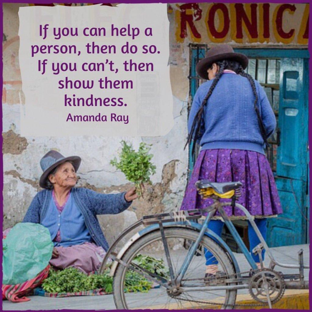 Show kindness