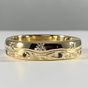 The Carina Wedding Band