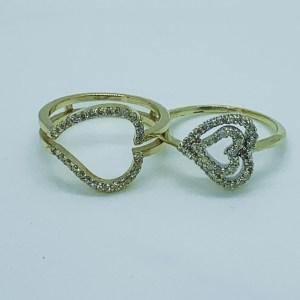 Diamond Heart Ring Jacket