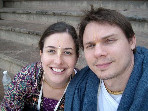 Our Interfaith Honeymoon in India, December 2010.