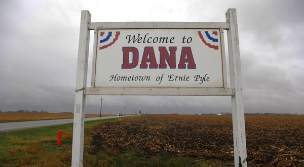 Photo credit: Nicole Bengiveno, The New York Times http://www.nytimes.com/2011/11/10/us/ernie-pyle-museum-is-struggling-dan-barry-this-land.html