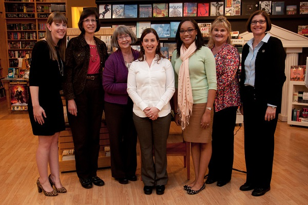 "The Upper Room Books Team! (AKA the ""village"" behind Saffron Cross)"