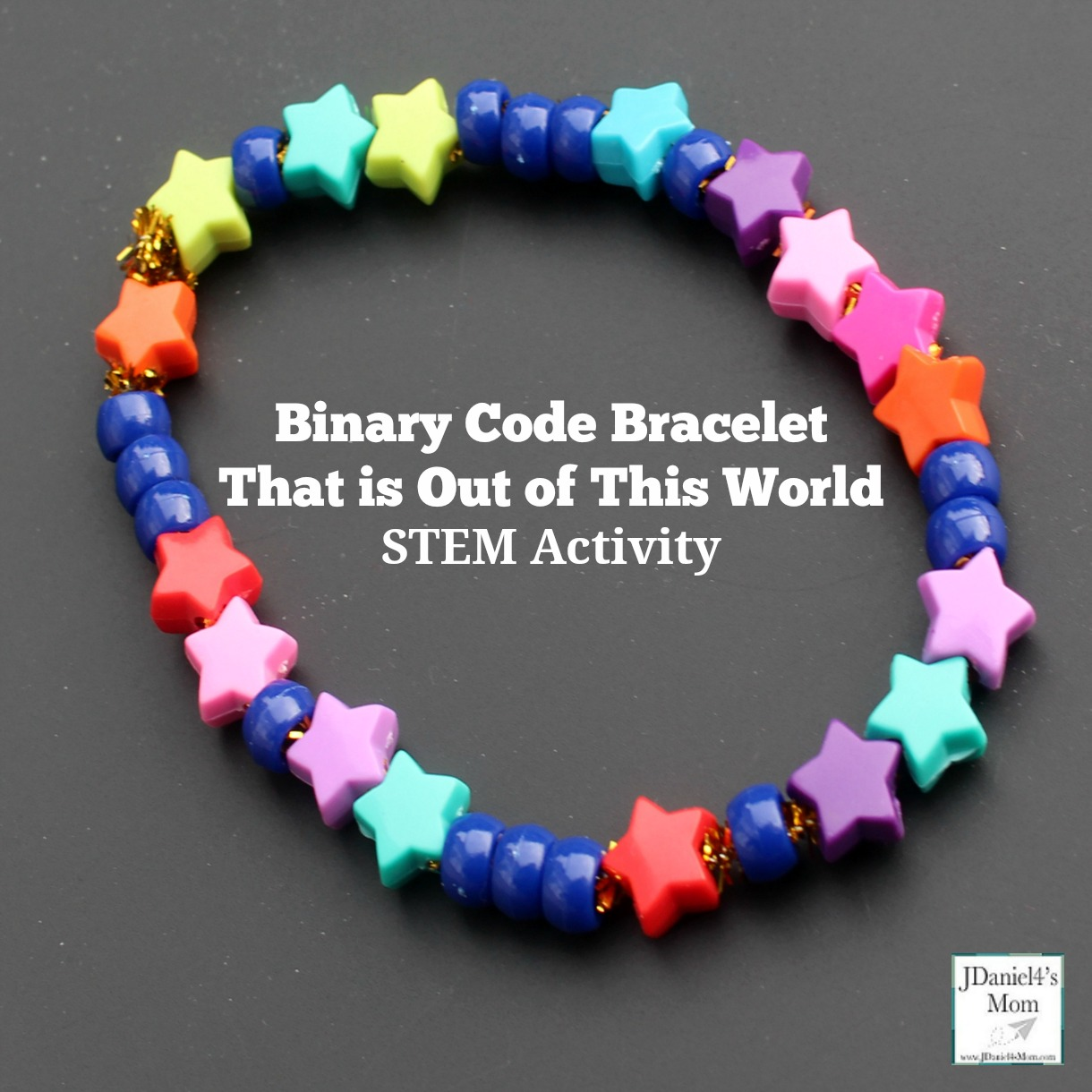 Binary Code Bracelet That Is Out Of This World
