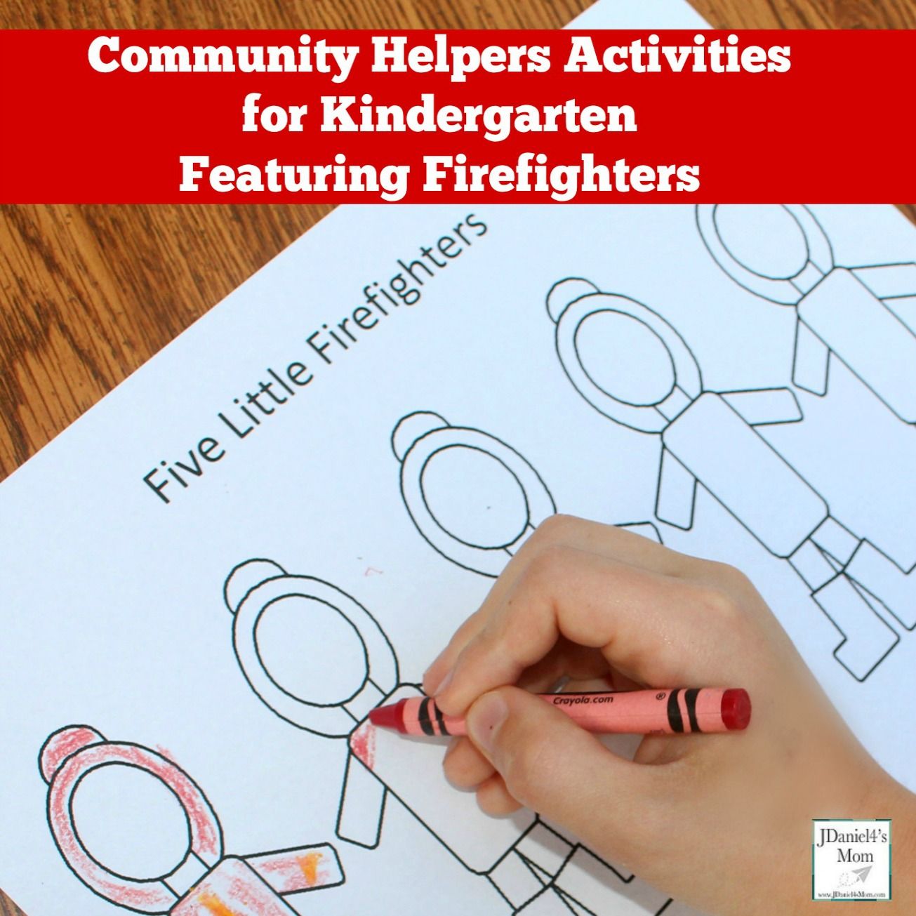 Community Helpers Activities For Kindergarten Featuring