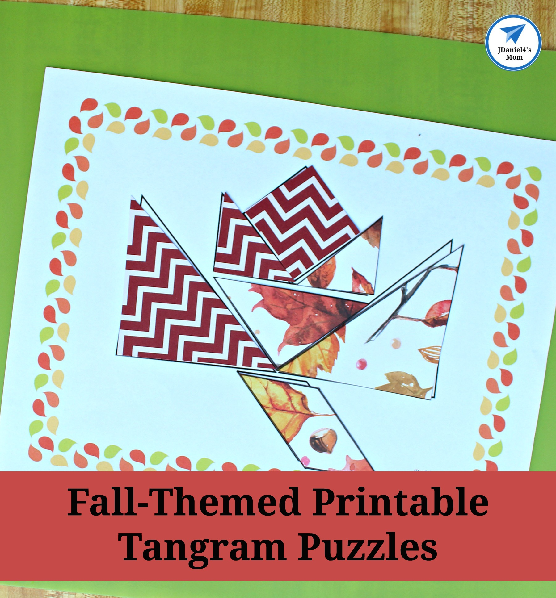 The Best Printable Tangram