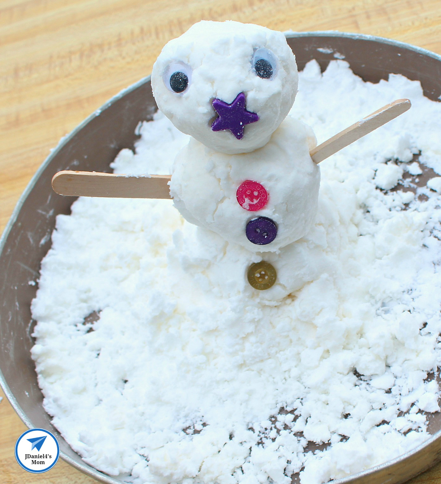 How To Make Fake Snow Recipes And Algorithm Activity