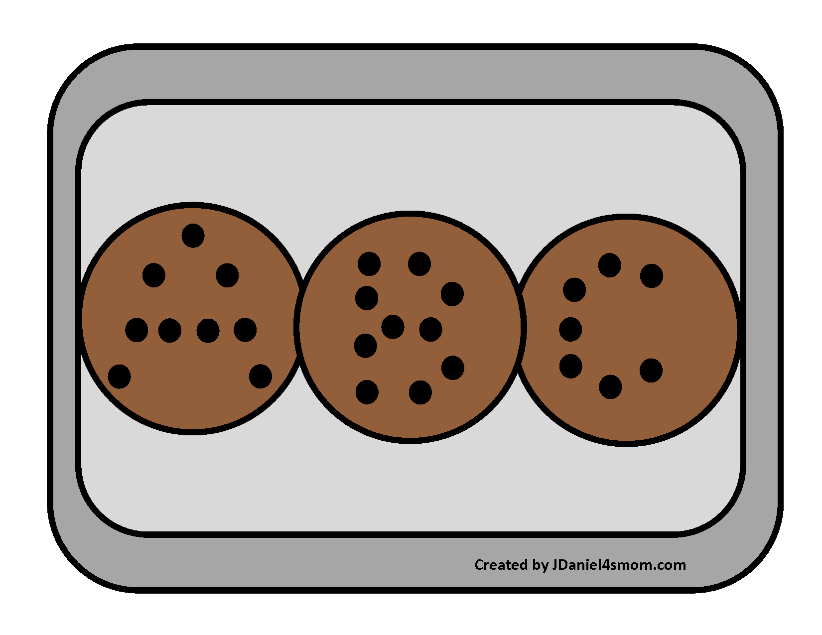 Cookie Themed Alphabet Letters And Activity