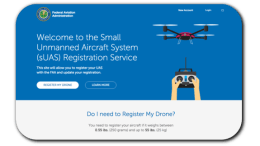 uas drone registration faa
