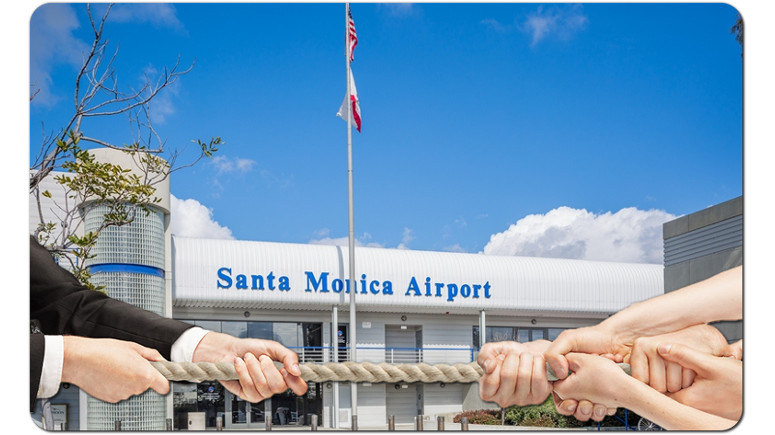 closing santa monica airport
