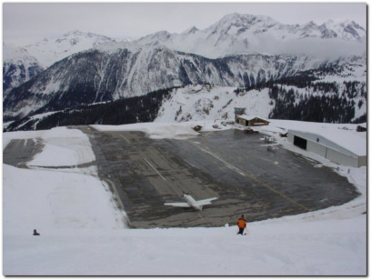part 139 airports Courchevel altiport france