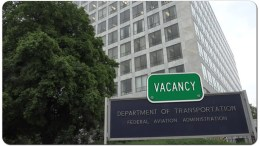 FAA Vacancies administrator department of transportation