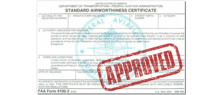faa product certification guide