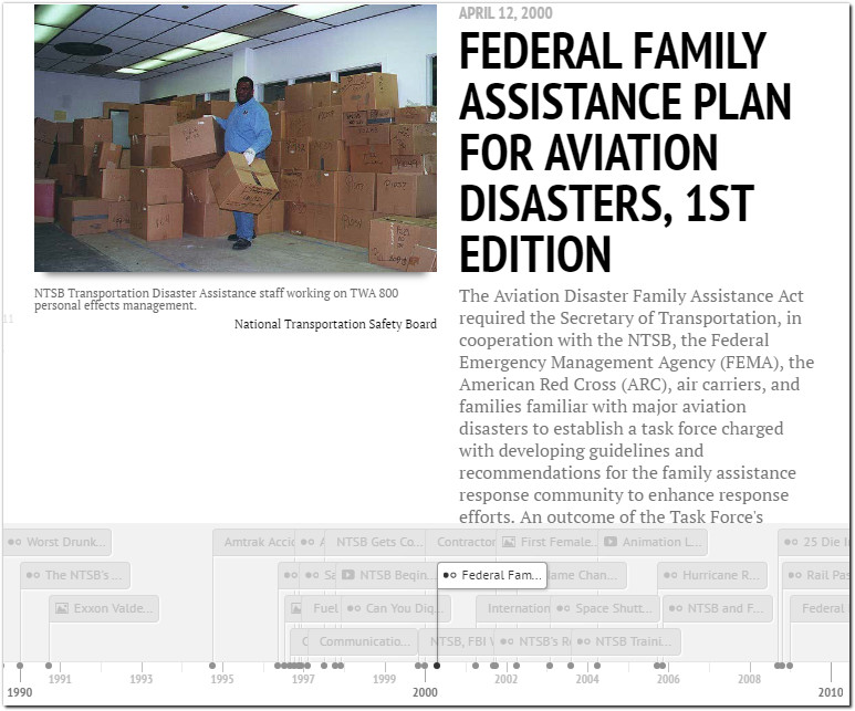 ntsb federal family assistant plan aviation