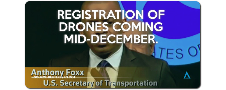 foxx uas registration rule