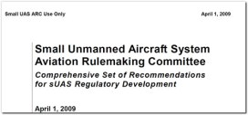 suas aviation rulemaking committee