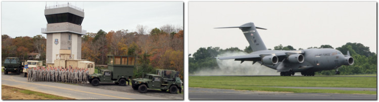 Air National Guard stanly county airport