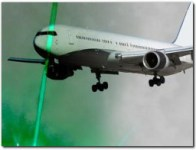 Aiming lasers at aircraft is a federal crime  Penalties