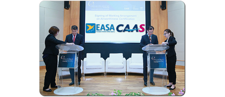 Easa Faa Agreements With Singapore Maintain Safety Reduce