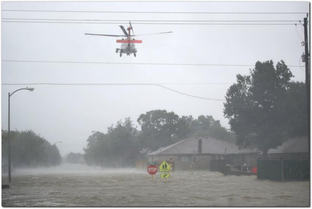 officials Warn Against Drone Use in Harvey Disaster Area