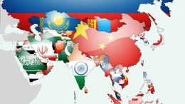 Asia-Flags-Map