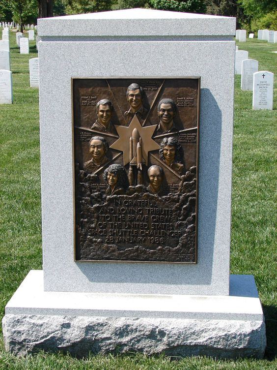 Challenger Memorial at Arlington National Cemetery