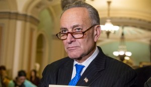 Sen. Chuck Schumer, D-N.Y., a member of the Senate Democratic