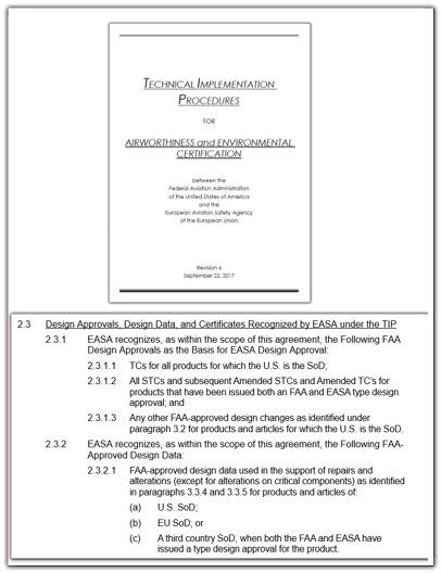 us easa BASA TERMS