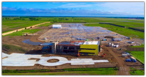 Grand Forks UAS center aerial