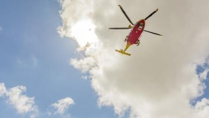 HEMS helicopter
