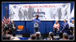 Sec. Chao press conference on Human Trafficking=