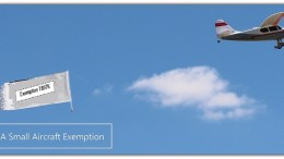 aircraft towing exemption