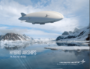 Lockheed Hybrid Airship cover