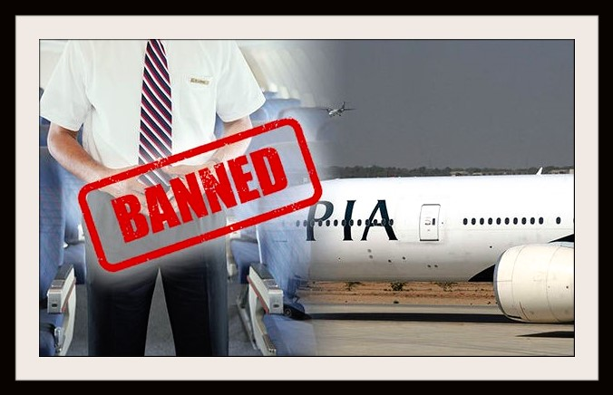PIA banned