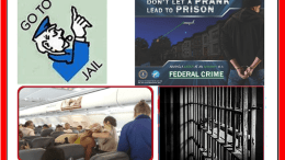 GO TO JAIL, fbi SEXUAL ASSAULT POSTER, ARREST ON BOARD PRISON