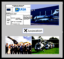 EASA AOC, plane, team and helicopters
