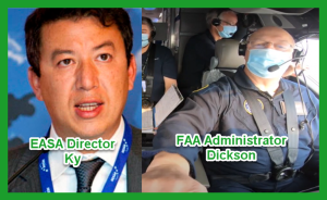 EASA's Ky and FAA's Dickson