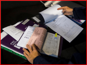 horse passport, vaccinations and papers