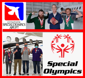Special Olympics Airlift