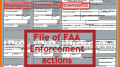 stack of faa enforcement files