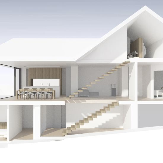Mosman Semi-detached House