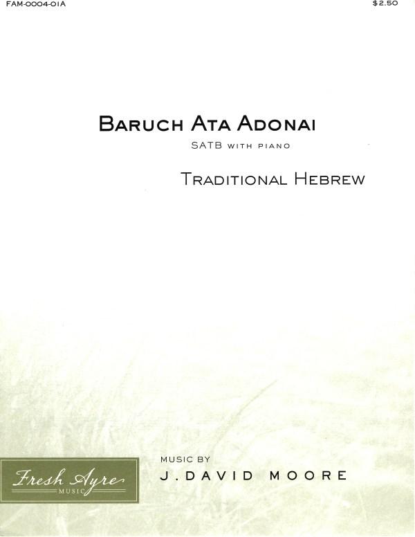 Baruch Ata Adonai 1