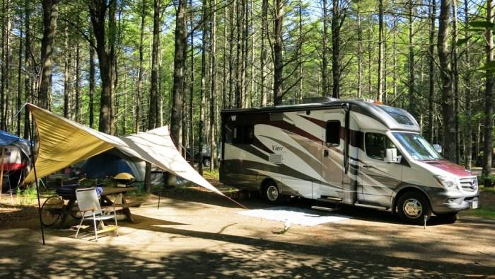 Sebago Lake Campsite