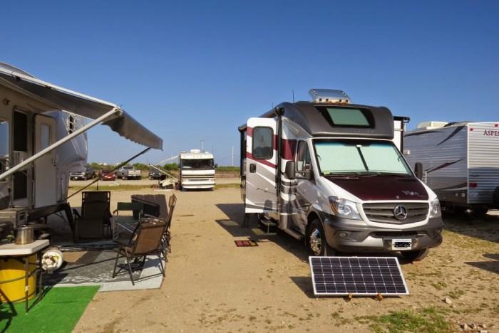 Breachway campsite