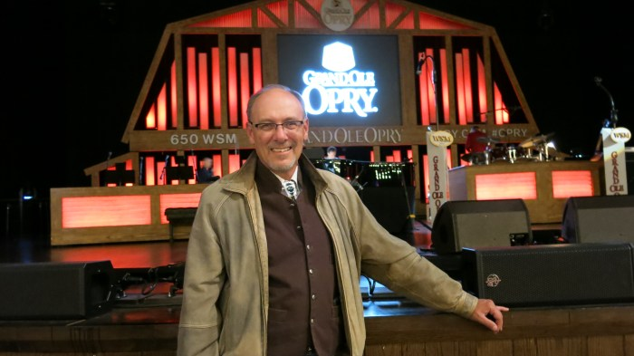 J. Dawg at the Opry with a smile that wouldn't stop
